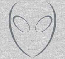 Alien 14 Grey Kids Clothes