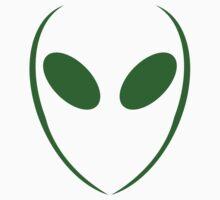 Alien 1 Green Kids Clothes