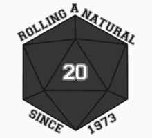 Rolling A Natural 20 Since 1973 stickers! by JBetts97