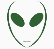 Alien 4 Green Kids Clothes