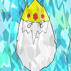 Ice King Inspired Print - Adventure Time Inspired Poster by mbellon05