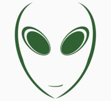 Alien 9 Green Kids Clothes
