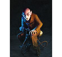 Nosferatu On A Tricycle Photographic Print