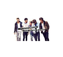 Strong - One Direction Photographic Print