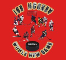 Ice Hockey Collectors T-shirts & Stickers. by nhk999
