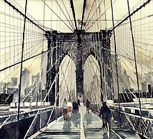 Brooklyn Bridge by Maja Wrońska