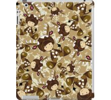 Cute Reindeer Kid Pattern iPad Case/Skin