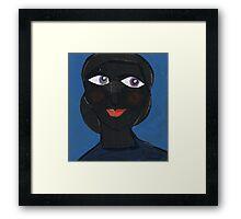 Bernice Reflects Sweetly Framed Print