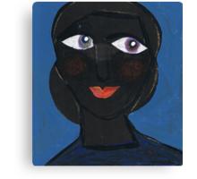 Bernice Reflects Sweetly Canvas Print