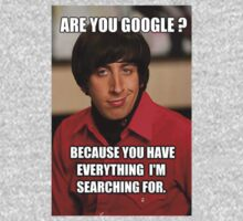 "The Big Bang Theory ""Howard, Are you google..."" by LPdesigns"