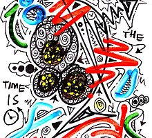 The Time Is Now- Unique Art by Vincent J. Newman