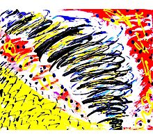 Tornado- Unique Painting  Photographic Print