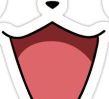 Pikachu's Face Sticker