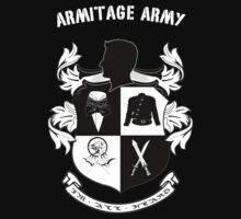Armitage Army CoA -txt- dark Tee by CircusDoll