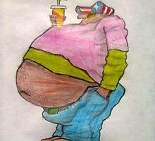fat guy by lazovic