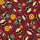 Cute Cowboy Pattern by MurphyCreative