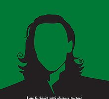 Loki - burdened with glorious purpose Samsung Galaxy case by GinCherry