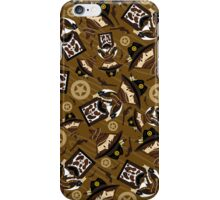 Cute Cowboy Pattern iPhone Case/Skin