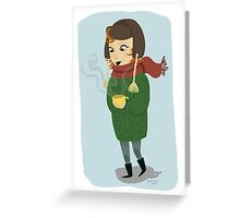 Let's have a lovely tea together! Greeting Card