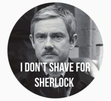 I don't shave for Sherlock 3 by ArabellaOh
