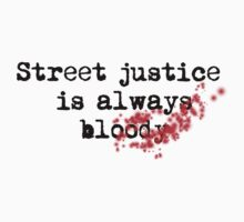Street Justice is always bloody by Shepeach1