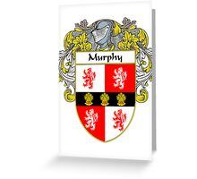 Murphy Coat of Arms/Family Crest Greeting Card
