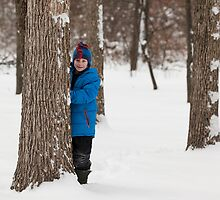 Portrait in the Snow by Dawn Crouse