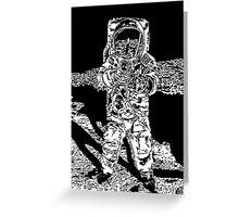 Moonman Greeting Card