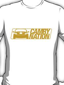 Camry Nation - Gen 6 Gold Alternate T-Shirt