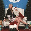 Santa and I by Sorcha Whitehorse ©