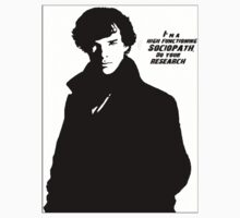 Sherlock- High Functioning Sociopath by FandomSell