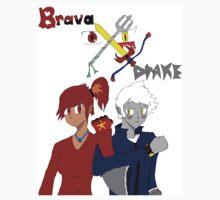 Brava X Drake by PKFLuffy