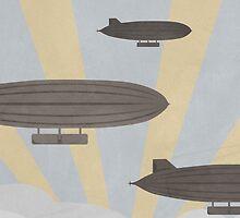 Zeppelins by Skalina