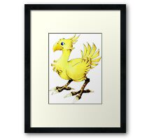 Chocobo Final Fantasy Framed Print