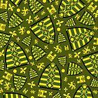 Medieval Knights Shield Pattern by MurphyCreative