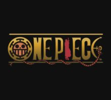 One Piece Trafalgar Law Logo by kyubara