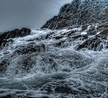 Crashing Waves off Pembrokshire South Wales by CelticOrigins