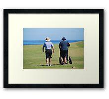 Cape Breton Golfers Framed Print