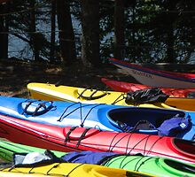 Kayaks of Cape Breton by Myscha Theriault