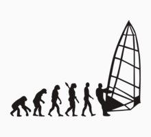 Windsurfing evolution by Designzz
