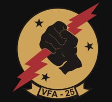 VFA - 25 Fighter Squadron - Fist Of The Fleet Kids Clothes