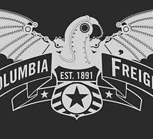 Bioshock Infinite - Columbia Freight (White) by PixelStampede