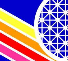 Kingdomcast Vintage EPCOT logo Sticker
