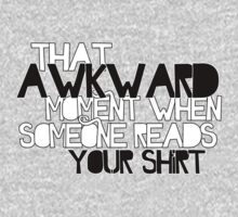 That Awkward Moment by Holly Newsome