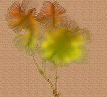 Digital Wish Flowers by mindprintz