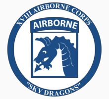 XVIII Airborne Corps Insignia - Sky Dragons - W/Text by VeteranGraphics