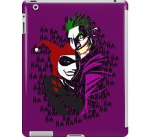 Joker and Harley iPad Case/Skin