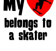 My Heart Belongs To A Skater by kwg2200