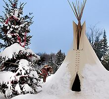 Winter in Canada...the Cheyenne way by John44