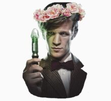 Matt Smith Flower Crown by cumberb4tch
